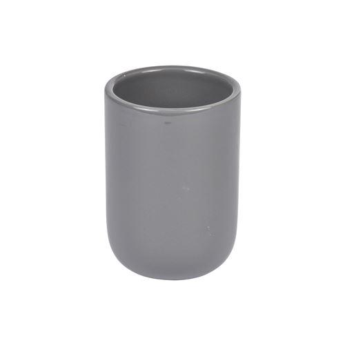gobelet ceramique vitamine anthracite
