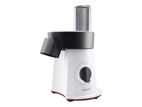 Philips Viva Collection SaladMaker HR1388 - Robot multi-fonctions - 200 Watt - blanc/noir/rouge étoile