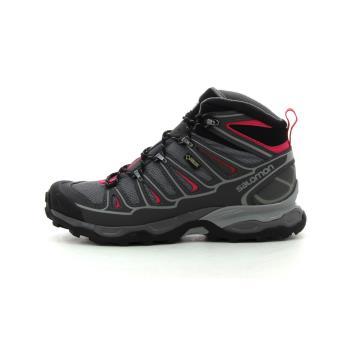 5786a89a98f Salomon Gore-Tex X Ultra Mid 2 GTX Noir 38 2 3 Chaussures Adulte Femme -  Chaussures et chaussons de sport - Achat   prix