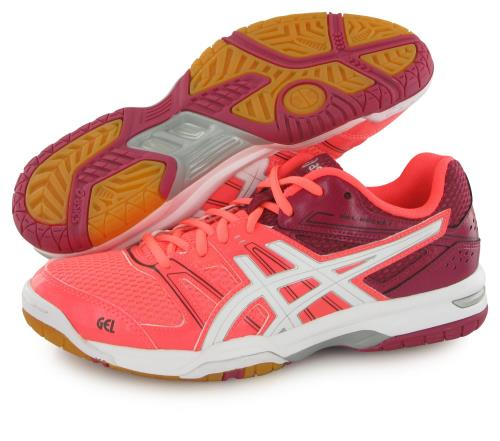 Asics Chaussures Gel Rocket 7 orangeblancrouge Pointure 37