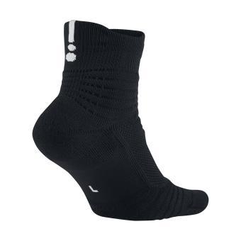 Chaussettes de Basketball Nike Elite Versatility Mid Noir
