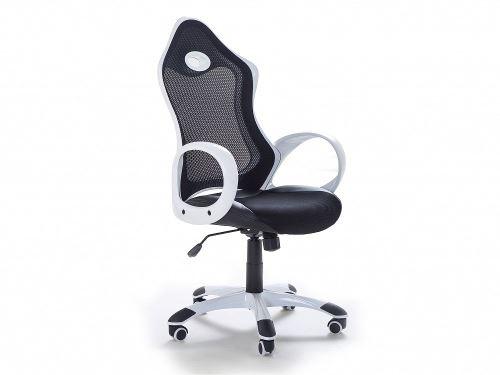 Chaise de bureau fauteuil design noir blanc ichair achat