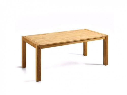 Table de salle à manger - table de cuisine - chêne clair - 180 cm - Natura