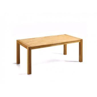 Table de salle à manger - table de cuisine - chêne clair - 150 cm - Natura