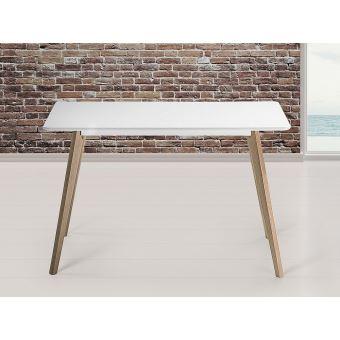 110€ sur Table de salle à manger - table de cuisine - blanc - 120x80 ...