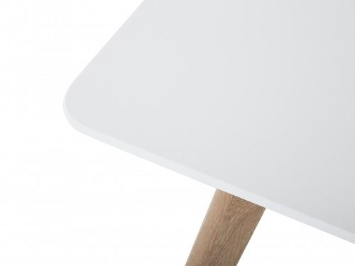 97€70 sur Table de salle à manger - table de cuisine - blanc ...