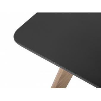 130€10 sur Table de salle à manger - table de cuisine - noir ...