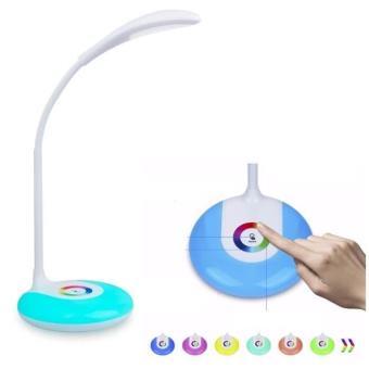 Lampe De Bureau Et Maison Multicouleur Veilleuse Led Lumiere Tactile