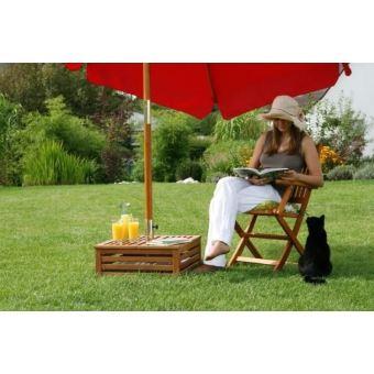 de Parasol pour basse Habillage Bois Table et Socle 8n0kwOPX