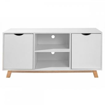 flo meuble tv tlvision style scandinave achat prix fnac - Meuble Style Scandinave