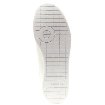Lacoste Carnaby EVO 217 1 SPM cuir Formateurs en Blanc