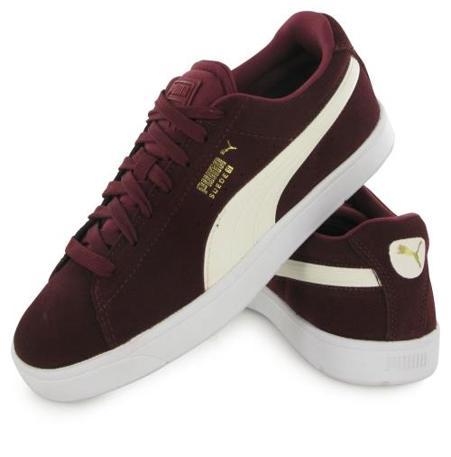meilleures baskets 35e7c c7a1b Femme 38 Chaussures S Taille Puma Suede Bordeaux EDH9W2I