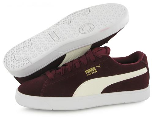 Chaussures Femme Puma Suede S Bordeaux Taille 39