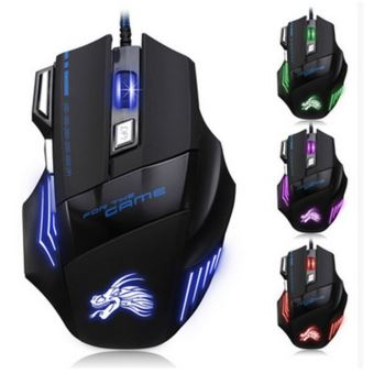 souris gamer pour msi pc avec fil usb led filaire. Black Bedroom Furniture Sets. Home Design Ideas