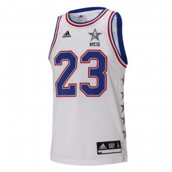 hot sale online 4f9ec 4fc1f Maillot Basketball ADIDAS NBA Replica Lebron James nº23 All-Star Game  (Conférence Est) - Supporter de basket-ball - Achat   prix   fnac