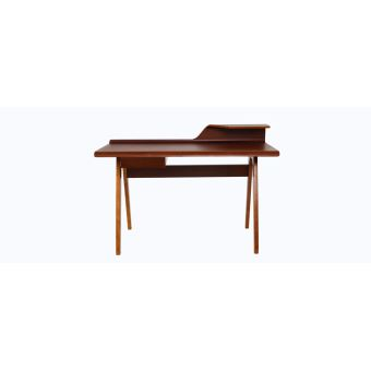 Bureau design noyer HARALD - Achat & prix | fnac