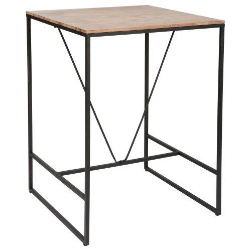 Table de bar Edena - 80 x 80 x 98 cm