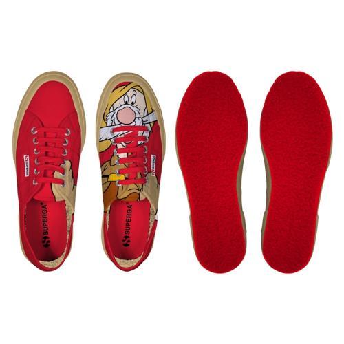 Superga <strong>chaussures</strong> cartoon 2750 disney eolo cobw pour adulte style classique imprimé à motifs