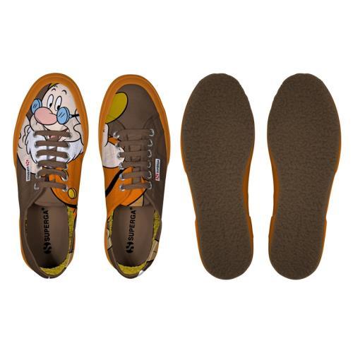 Superga <strong>chaussures</strong> cartoon 2750 disney dotto cobw pour adulte style classique imprimé à motifs