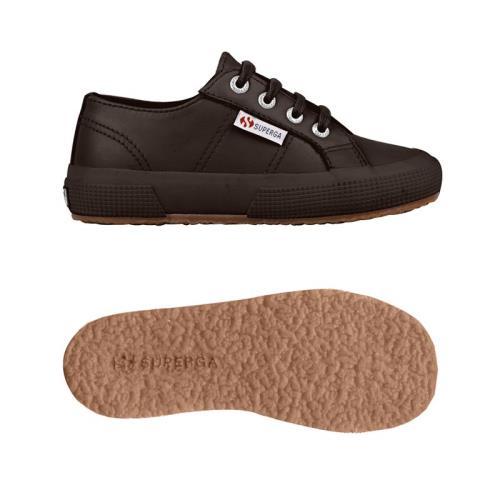 Superga <strong>chaussures</strong> 2750 fglj wt pour bébé garçon et bébé fille style classique couleur unie