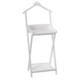 29 sur valet de chambre avec 2 tag res pratique et. Black Bedroom Furniture Sets. Home Design Ideas