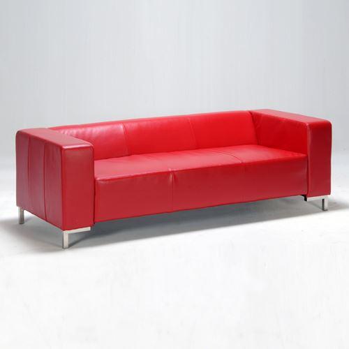 Canapé DIVA 3 places / Rouge