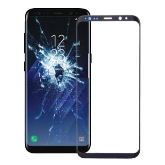 samsung galaxy s8 remplacement vitre avant noir als29530 accessoire pour t l phone mobile. Black Bedroom Furniture Sets. Home Design Ideas