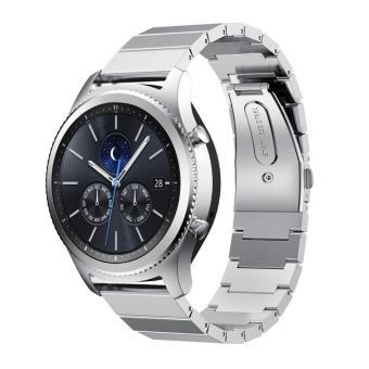Bracelet en acier inoxydable Solid pour Samsung Gear S3 Frontier / S3  Classic , Argent , Etui pour téléphone mobile , Achat \u0026 prix