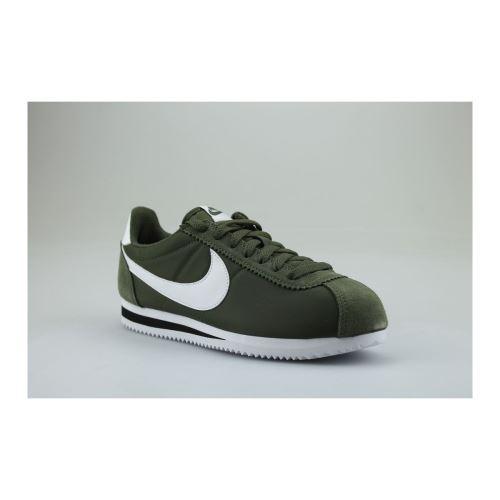 NIKE Cortez Nylon Kaki - Chaussures et chaussons de sport - Achat ...