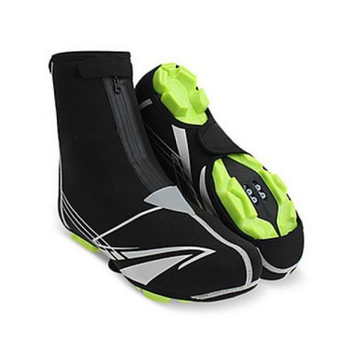 Couvre <strong>chaussures</strong> bottes antidérapant et étanche pour cyclisme noir 42