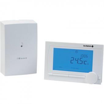 de dietrich thermostat d ambiance programmable modulant sans fil ad303 pour chaudi re. Black Bedroom Furniture Sets. Home Design Ideas