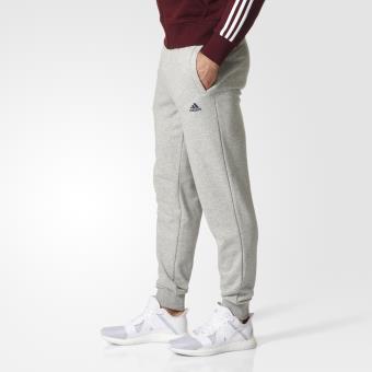 6748334589b0d Adidas - Pantalon adidas Essentials French Terry - L - gris/bleu marine -  Pantalons de sport - Achat & prix   fnac