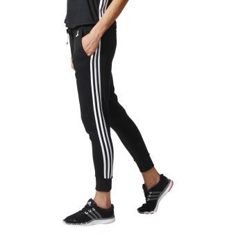 sports shoes 648e9 deaea Adidas - Pantalon femme adidas Essentials 3-Stripes Tapered - ML -  noirblanc - Pantalons de sport - Achat  prix  fnac