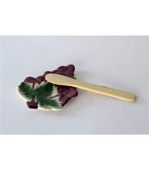 Pose plat design grappe de raisin - Lot de 2