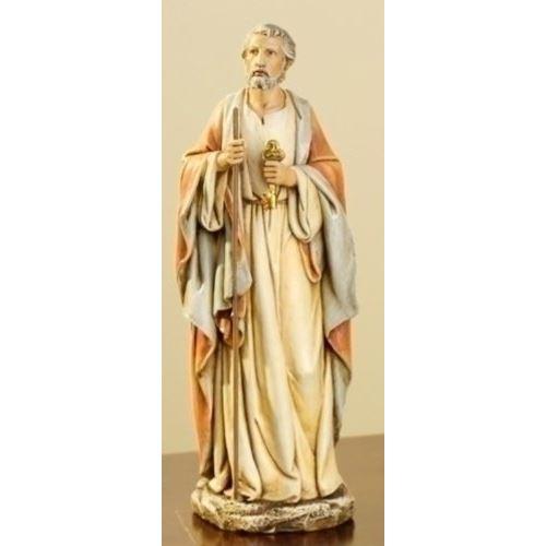 Josephs Studio - Statue représentant une figure de clés du ciel en résine Saint-Pierre, 10 pouces