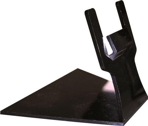 Porte etiquette plastique noir h 6 p/10