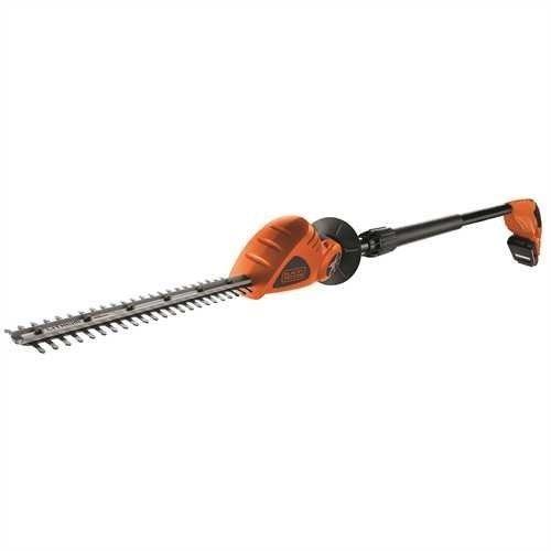 BLACK + DECKER GTC1843L20 Taille-Haies sans Fil 500 W 18 V Rouge / Orange 43 cm