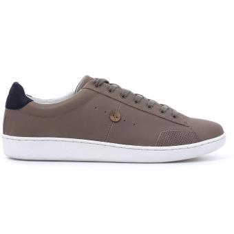 Et Chaussures Taupe Hosta Baskets Cuir Marron Faguo P39 En taOT0WT8f
