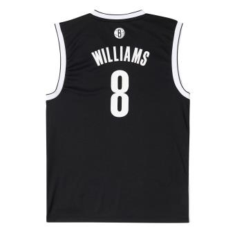 Adidas Performance Maillot Brooklyn Nets Deron Williams Noir