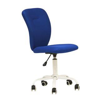 De Design En Chaise Think Pivotante Textilene Pure Bleu Bureau yYb76gvf