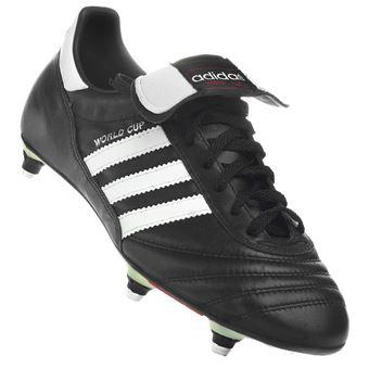 Chaussures football vissées Adidas World cup visse cuir Noir taille : 40 réf : 11587