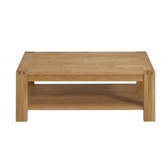 nouveaux styles 3413f 9ff07 Table basse rectangulaire en chêne finition huilée ...