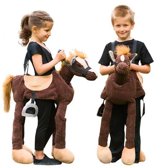 Amscan costume d'enfant Ride on Poney polyester marron 3-8 ans