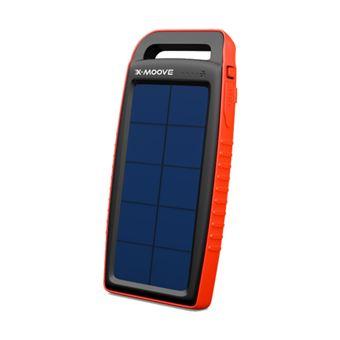 Zonne externe batterij Pocket X-Moove Solargo PowerBank 15.000 mAh
