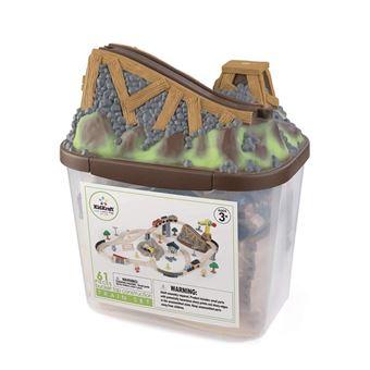 KidKraft - Bucket Top Construction Train Set