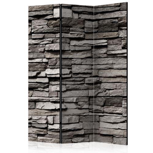 Paravent 3 volets - Stony Facade [Room Dividers] - Décoration, image, art | 135x172 cm |