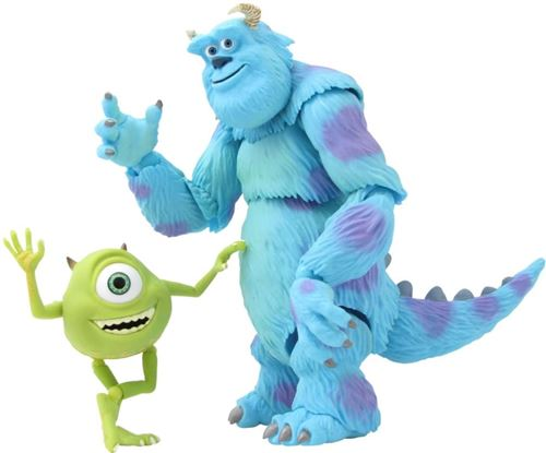 Monsters Inc. Mike SallyRevoltech 028 Figurine Super Poseable
