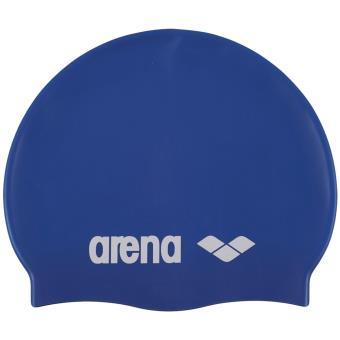4577164eeda4 20% sur Bonnet de bain Enfant Arena Classic Silicone Jr Bleu Taille ...