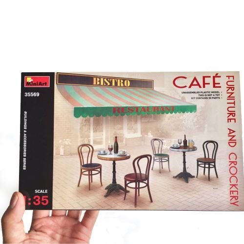 Mobilier et diverses fournitures de café Mini Art
