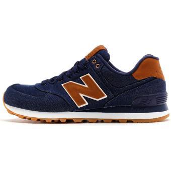 new balance bleu et marron